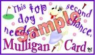 Mulligan Golf-Dog Theme-Individual 1