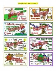 Mulligan Golf Cards Excuses #3