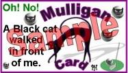 Mulligan Golf Halloween Excuse 1B